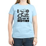 Mom Lets Me Ride In The Way-Back Women's Raglan Ho