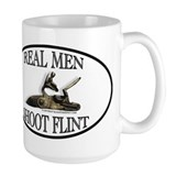 Real Men Shoot Flint Mug