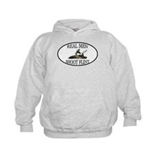 Real Men Shoot Flint Hoodie