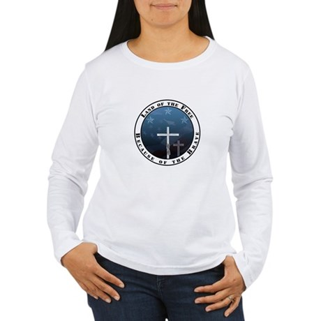 Land of the Free Women's Long Sleeve T-Shirt