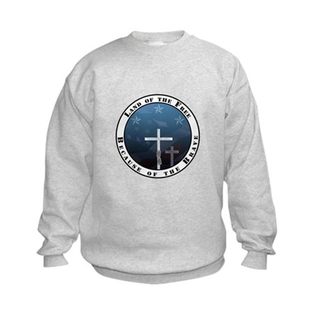 Land of the Free Kids Sweatshirt