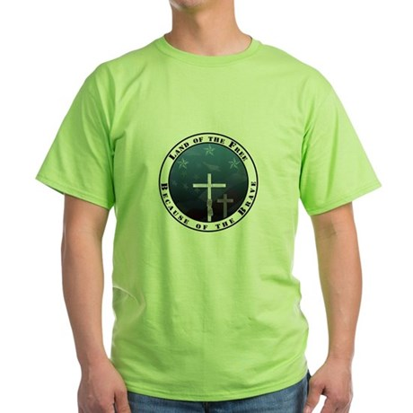 Land of the Free Green T-Shirt