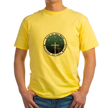 Land of the Free Yellow T-Shirt