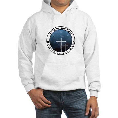 Land of the Free Hooded Sweatshirt