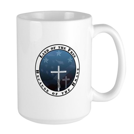 Land of the Free Large Mug