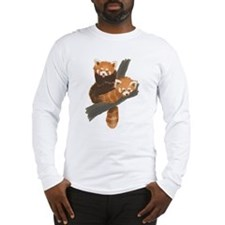 Red Pandas Long Sleeve T-Shirt