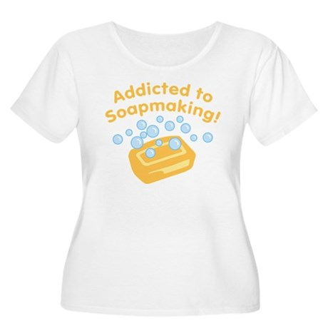 Addicted to Soap Craft Women's Plus Size Scoop Nec