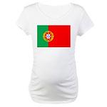 Portuguese Flag of Portugal Maternity T-Shirt