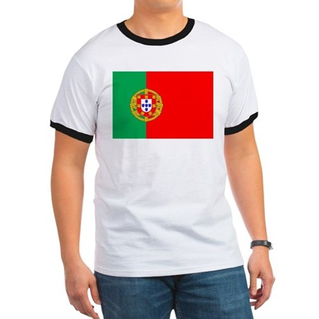 Portuguese Flag of Portugal Ringer T