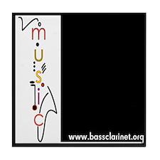 www.bassclarinet.org tile coaster
