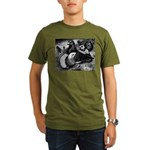 Giant Homer Pigeons Organic Men's T-Shirt (dark)