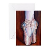 Ballet Shoes Greeting Cards (Pk of 10)