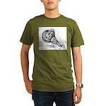 Gaditano Spanish Pouter Organic Men's T-Shirt (dar