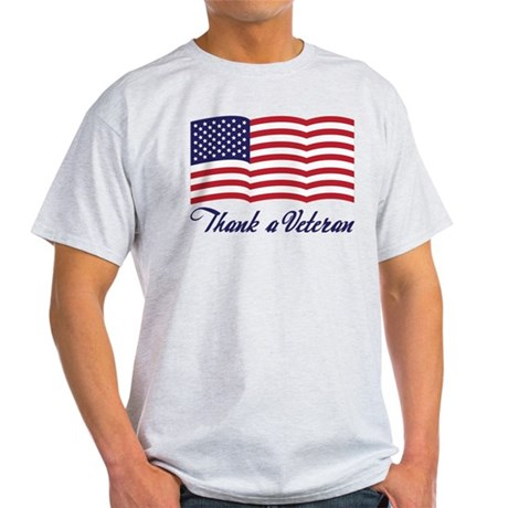 Thank A Veteran Light T-Shirt
