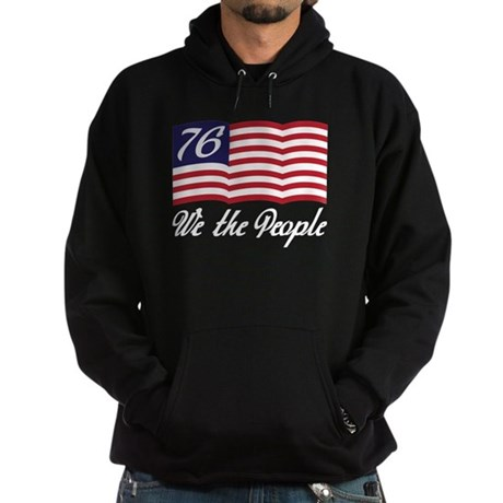 We The People Hoodie (dark)