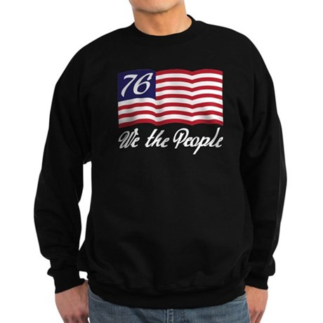 We The People Sweatshirt (dark)