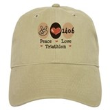 Peace Love Triathlon 140.6 Cap