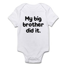 Unique Little brother Infant Bodysuit