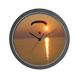 Powered Parachute Wall Clock