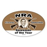 Firearms &amp; Ammo Salesman Oval Decal