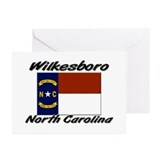 Wilkesboro North Carolina Greeting Cards (Pk of 20