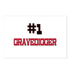 Number 1 GRAVEDIGGER Postcards (Package of 8)