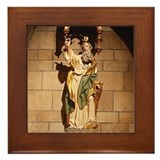 St Jude Framed Tile