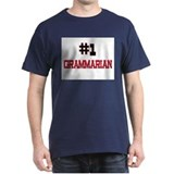 Number 1 GRAMMARIAN T-Shirt