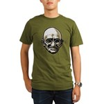 Mahatma Gandhi Organic Men's T-Shirt (dark)