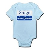 Saige loves grandma Infant Bodysuit