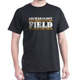 Archaeology Black T-Shirt