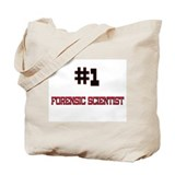 Number 1 FORENSIC SCIENTIST Tote Bag