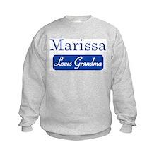 Marissa loves grandma Sweatshirt