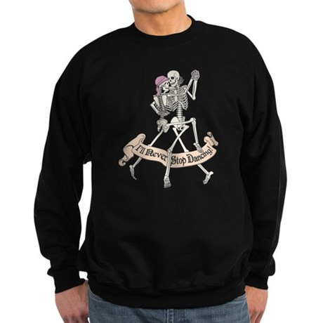 Dancing Skeletons Sweatshirt (dark)