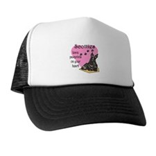 Scottie Pawprints Trucker Hat