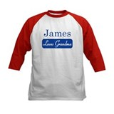 James loves grandma Tee
