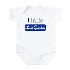Halle loves grandma Infant Bodysuit