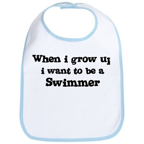 Be A Swimmer Bib