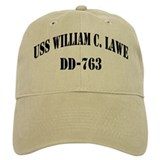 USS WILLIAM C. LAWE Hat