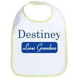 Destiney loves grandma Bib