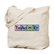 Teacher made of Elements Tote Bag