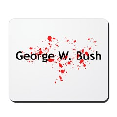 Blood Spattered Bush - Mousepad