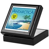 Visit Tropical Antarctica Keepsake Box