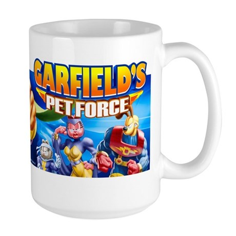 Garzooka and Team Large Mug