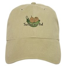 Twins (pea pods) Baseball Cap
