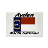 Ayden North Carolina Rectangle Magnet (10 pack)