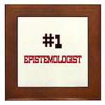 Number 1 EPISTEMOLOGIST Framed Tile