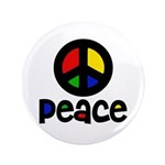 "Peace 3.5"" Button (100 pack)"