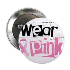 "Wear Pink 2.25"" Button (10 pack)"
