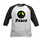 Peace Kids Baseball Jersey